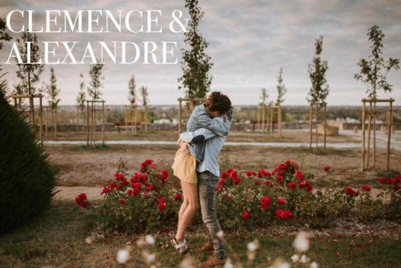 Photo de Clémence et Alexandre